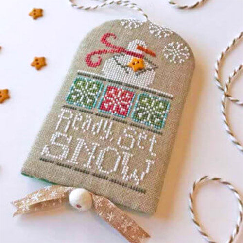Ready, Set, Snow Cross Stitch Pattern