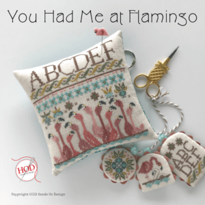 You Had Me at Flamingo Cross Stitch Pattern
