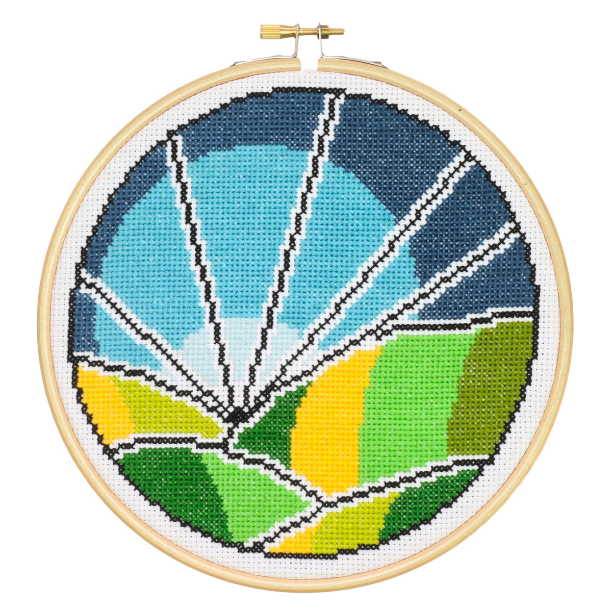 Rolling Fields Cross Stitch Kit