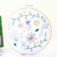 Wildflower Meadow Hand Embroidery Kit