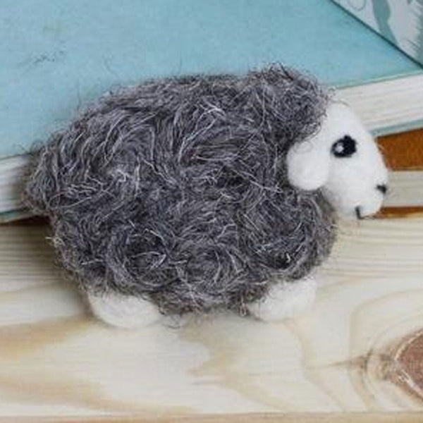 Herdwick Sheep Brooch Felting Kit