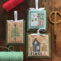 Merrymaking Mini Tree Cross Stitch Pattern