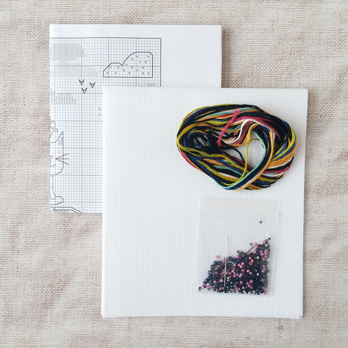 Makes Your Heart Smile Cross Stitch Kit
