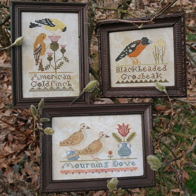 Bird Collection Cross Stitch Pattern - Part I