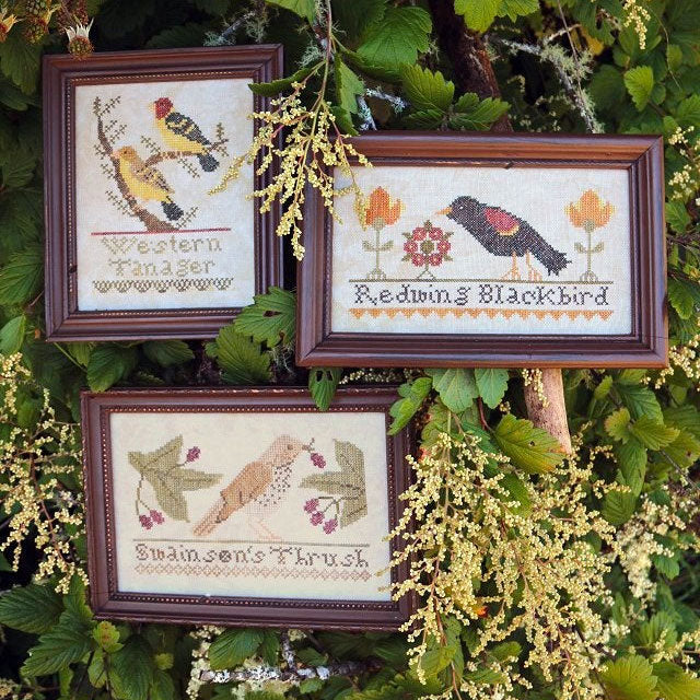 Bird Collection Cross Stitch Pattern - Part II