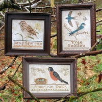 Bird Collection Cross Stitch Pattern - Part IV