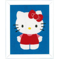 Hello Kitty Canvas Needlepoint Kit