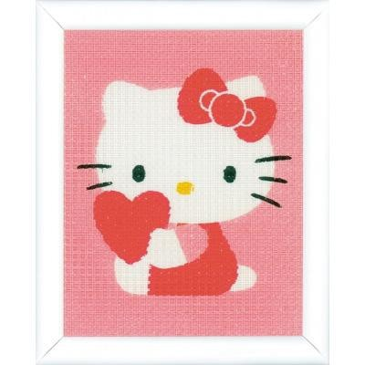 Hello Kitty with Heart Canvas Kit
