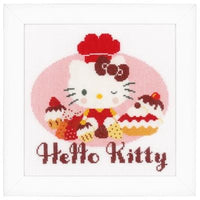 Hello Kitty Pie Bakery Cross Stitch Kit