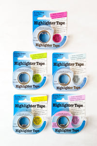 Highlighter Tape for Cross Stitch Charts