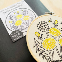 Bee Kind Hand Embroidery Kit