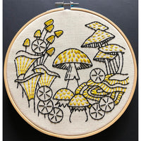 Fungus Among Us Hand Embroidery Kit