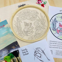 Gild the Lily Hand Embroidery Kit