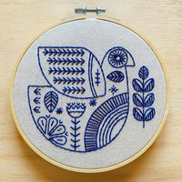 Hygge Dove Hand Embroidery Kit