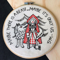 Little Red Riding Hood Hand Embroidery Kit