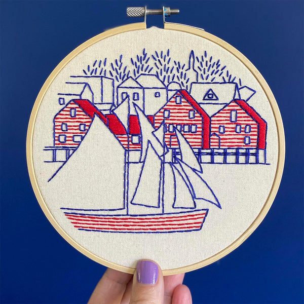 Lunenburg Handmade Embroidery Kit
