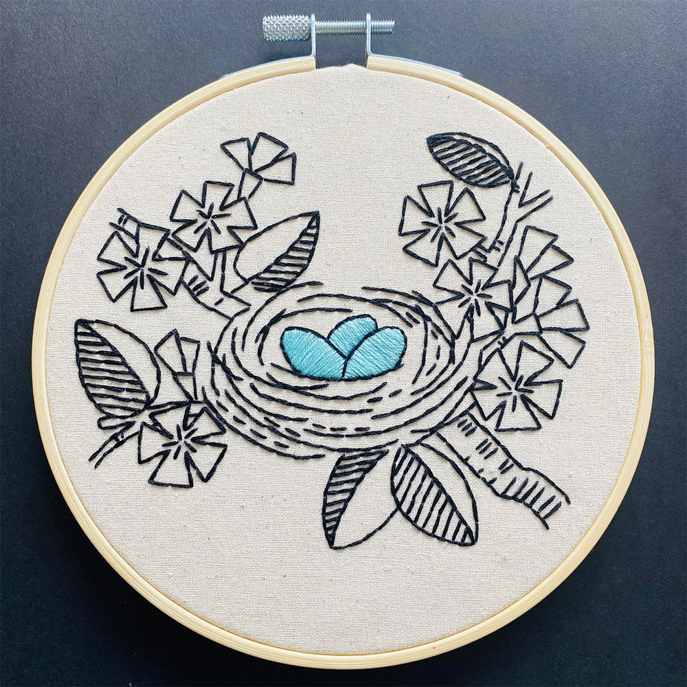Nest Egg Hand Embroidery Kit