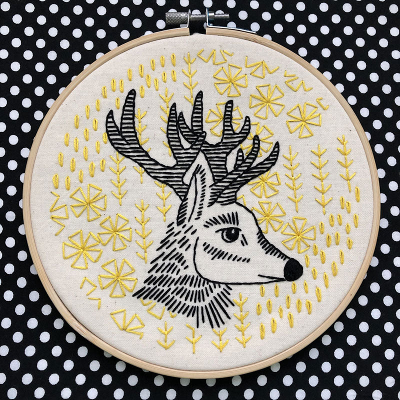 Oh Deer Me Hand Embroidery Kit