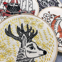 Oh Deer Me Handmade Embroidery Kit