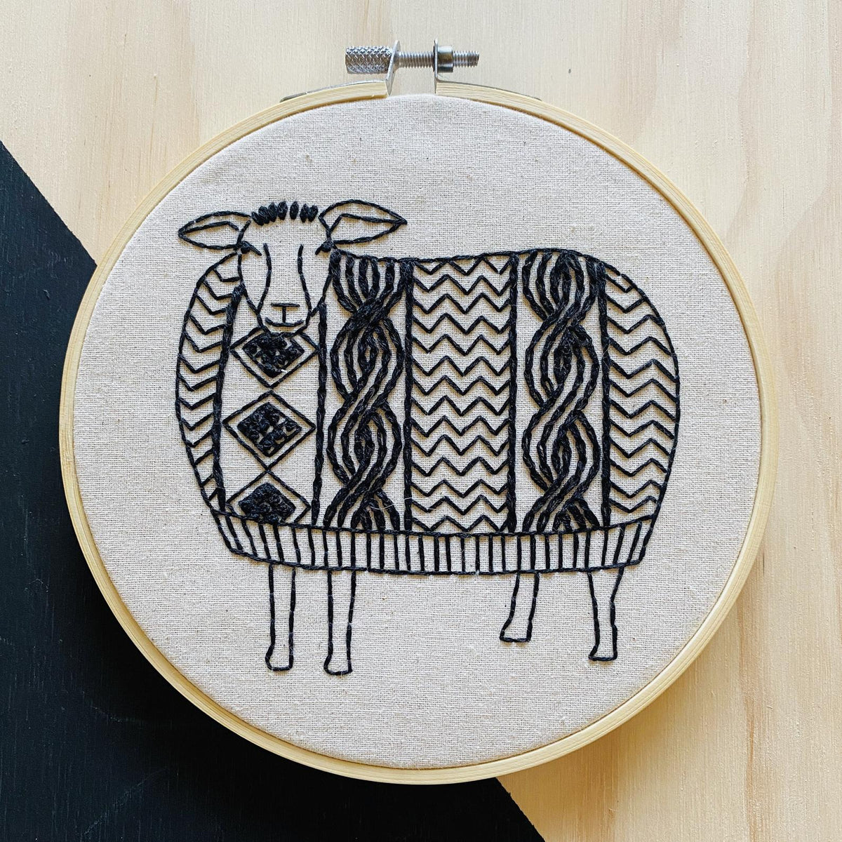 Sweater Weather Hand Embroidery Kit