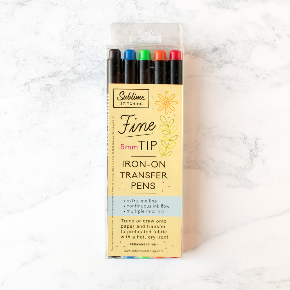 Fine Tip Iron-on Transfer Pen Gift Set
