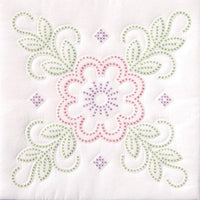 Stamped Cross Stitch Panels - Floral Design