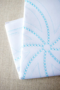 Stamped Cross Stitch Panels - Pinwheel