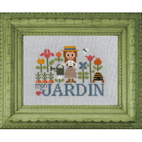 Mon Jardin Cross Stitch Pattern