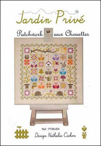 Patchwork Owls (Patchwork aux Chouettes) Cross Stitch Pattern