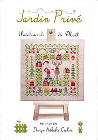 Patchwork Christmas (Patchwork de Noel) Cross Stitch Pattern