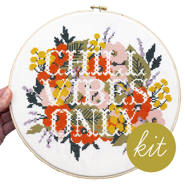 Chill Vibes Only Cross Stitch Pattern