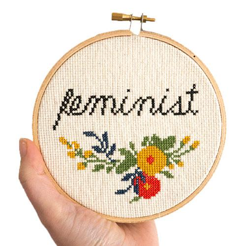 Feminist Cross Stitch Pattern