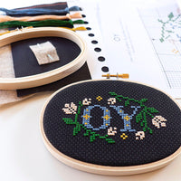 'OY' Cross Stitch Kit
