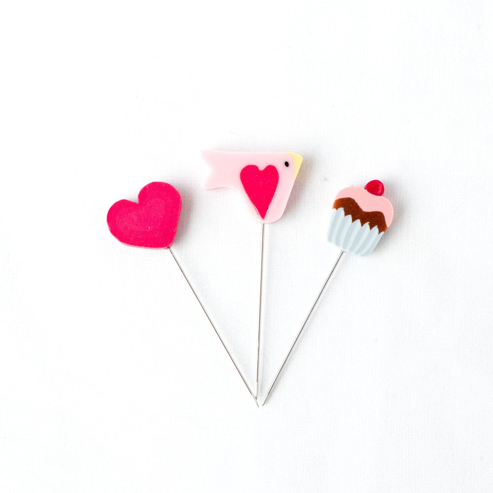 Handmade Straight Pin Mini Collection - Sweetheart (30% OFF)