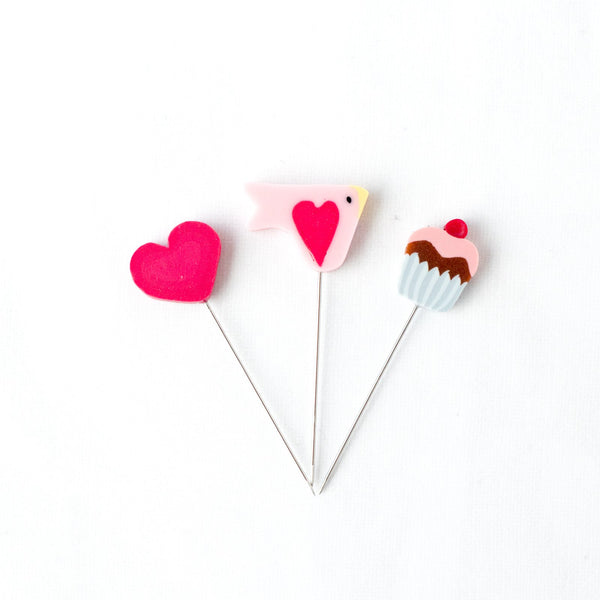 Handmade Straight Pin Mini Collection - Sweetheart