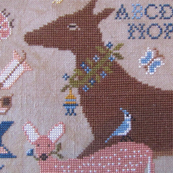 Dearie and Darling Cross Stitch Pattern