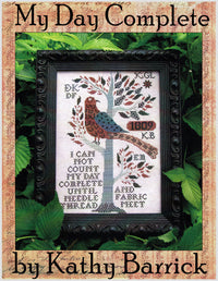 My Day Complete Cross Stitch Pattern