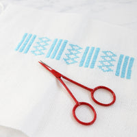 Joji Red Embroidery Scissors