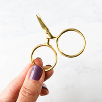 Metallic Putford Embroidery Scissors