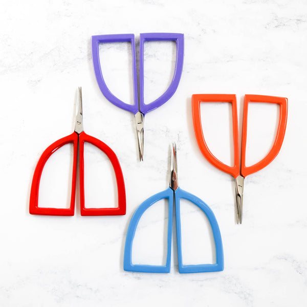 Colorful Pudgie Embroidery Scissors