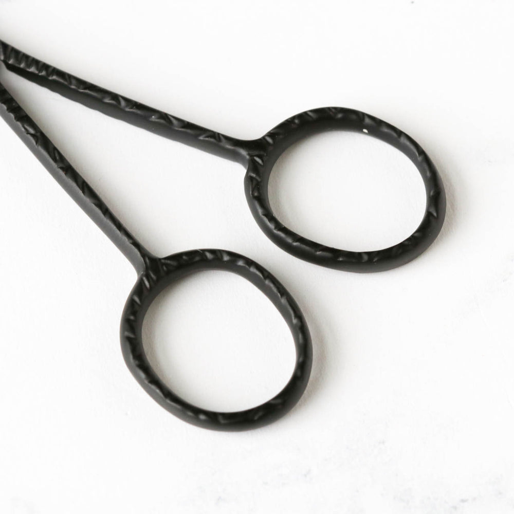 Joji Matte Black Embroidery Scissors
