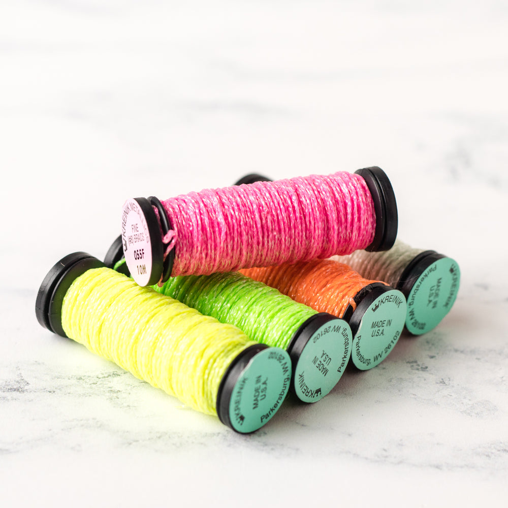 Kreinik Glow in the Dark Thread - Fine #8 Braid