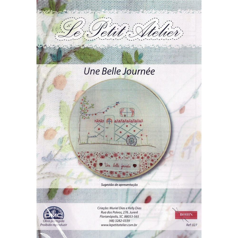 French Hand Embroidery Kit - Beautiful Day
