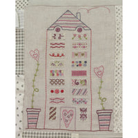 French Hand Embroidery Kit - House #7