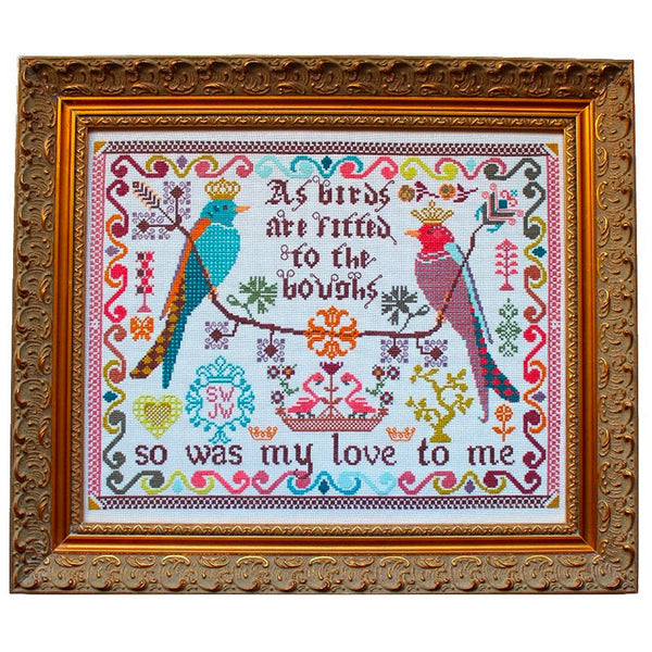Birds to the Boughs Cross Stitch Pattern
