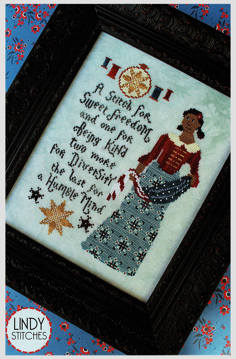 A Stitch for Sweet Freedom Cross Stitch Pattern