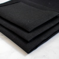Cashel Black Linen Cross Stitch Fabric - 28 count