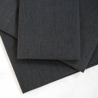 Chalkboard Black Linen Cross Stitch Fabric - 32 count