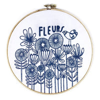 Lisa Congdon Hand Embroidery Kit - Fleurs