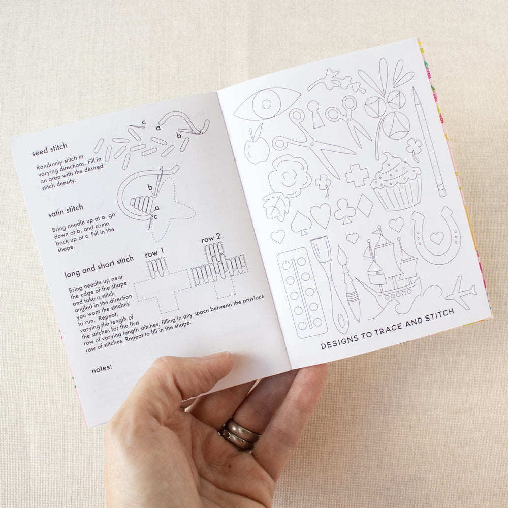 The Little Book of Basic Embroidery by Alison Glass